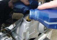 Выбираем мотохимию для мотоцикла — моторное масло