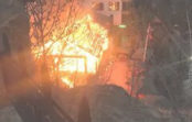 Пожар на Медовых водопадах