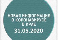 Эпидситуация в Ставропольском крае на 31 мая
