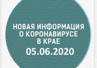 Эпидситуация в Ставропольском крае на 5 июня