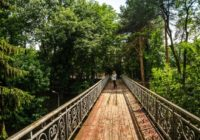В Кисловодске отреставрируют пешеходные мостики у филармонии