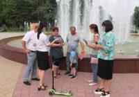 В городе Пятигорске прошла акция: Чем ярче, тем безопаснее