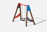 Детская площадка для дачи — порадуйте своего ребенка