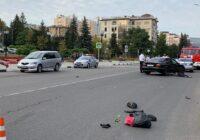 В Кисловодске под колесами иномарки погибла женщина / 18+