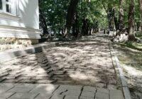 В Ессентуках реконструируют Пантелеймоновский парк