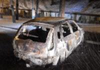 Полицейские задержали подозреваемого в поджоге автомобиля