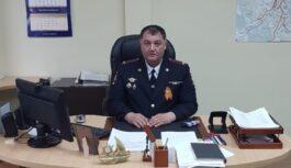 Начальник ОГИБДД Кисловодска поздравляет наступающим праздником