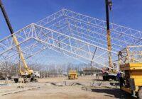 В Ессентуках продолжается строительство Ледовой арены