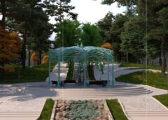 В Комсомольском парке расположат бювет с минеральной водой