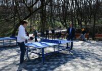 Городской турнир по настольному теннису прошёл в Железноводске