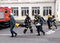 В ходе штабной тренировки в Ессентуках эвакуировали школьников