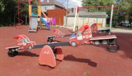 Современные игровые и спортивные площадки появились в Ессентуках