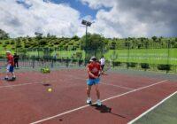 Турнир по теннису среди спортсменов-ветеранов