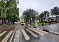 ДТП произошло в Кисловодске у мемориала Журавли