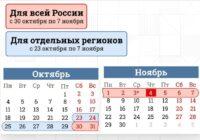 Путин объявил нерабочими днями неделю с 30 по 7 ноября