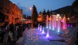 Поющий фонтан в Пятигорске открыли после реконструкции